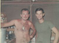 Barry Condon and me, Dong Ha, July 69.jpg