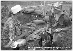 French Indochina war uniform study